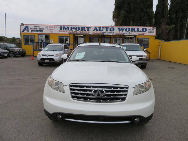 2007 Infiniti FX35 for sale at Import Auto World in Hayward CA