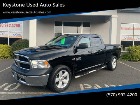 2018 RAM Ram Pickup 1500 for sale at Keystone Used Auto Sales in Brodheadsville PA
