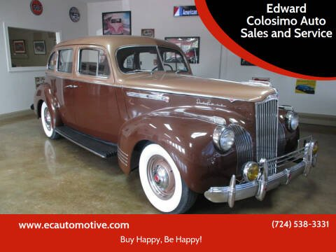 1941 Packard Caribbean for sale at Edward Colosimo Auto Sales and Service in Evans City PA