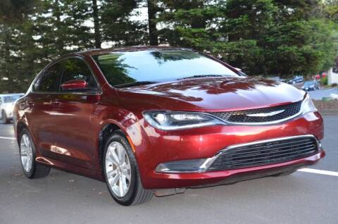 2015 Chrysler 200 for sale at Brand Motors llc in Belmont CA