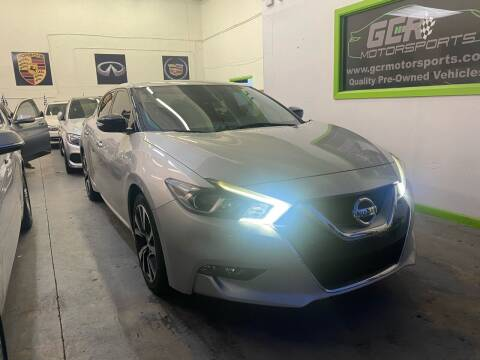 2016 Nissan Maxima for sale at GCR MOTORSPORTS in Hollywood FL