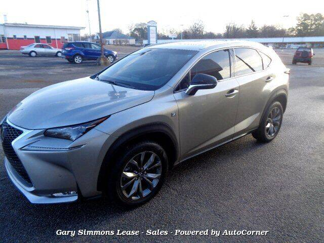 2016 Lexus NX 200t for sale at Gary Simmons Lease - Sales in Mckenzie TN