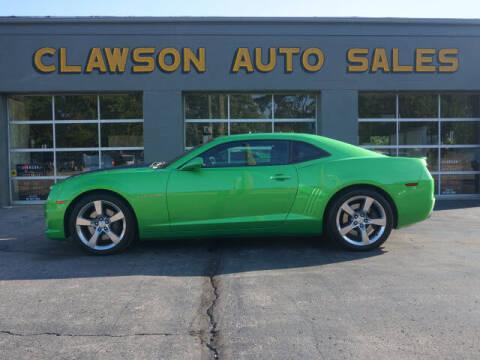 2011 Chevrolet Camaro for sale at Clawson Auto Sales in Clawson MI