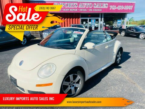 2006 Volkswagen New Beetle Convertible for sale at LUXURY IMPORTS AUTO SALES INC in North Branch MN