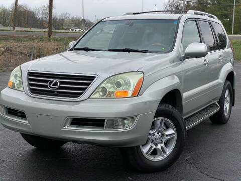 2004 Lexus GX 470 for sale at MAGIC AUTO SALES in Little Ferry NJ