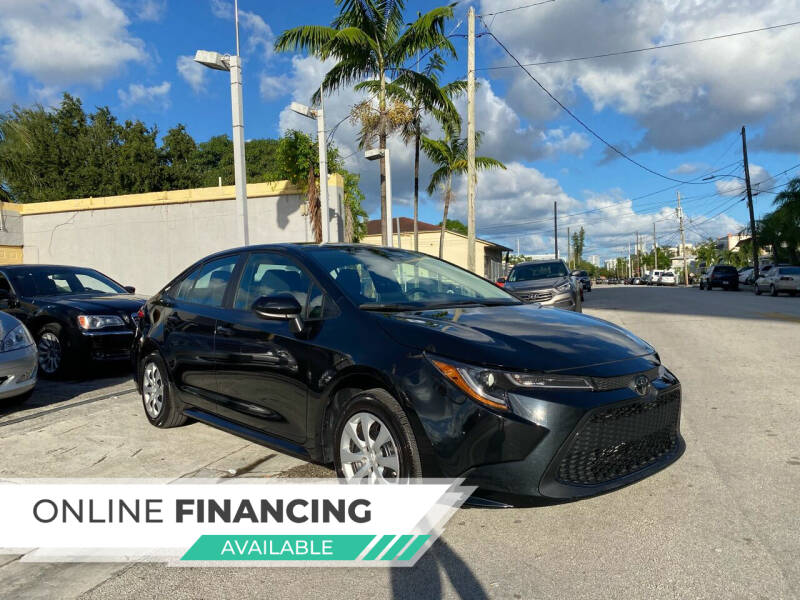 2020 Toyota Corolla for sale at Global Auto Sales USA in Miami FL