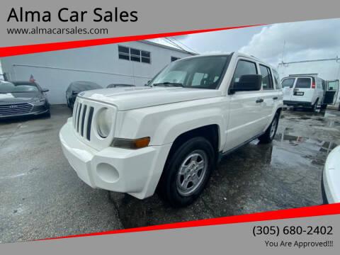 2008 Jeep Patriot for sale at Alma Car Sales in Miami FL