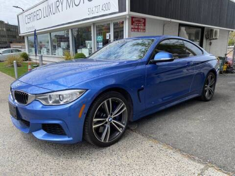 2017 BMW 4 Series for sale at Certified Luxury Motors in Great Neck NY
