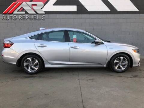 2019 Honda Insight for sale at Auto Republic Fullerton in Fullerton CA