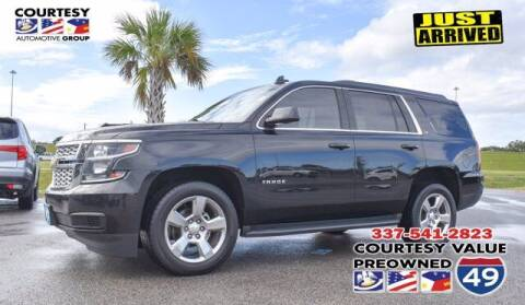 2017 Chevrolet Tahoe for sale at Courtesy Value Pre-Owned I-49 in Lafayette LA