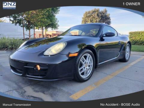 2007 Porsche Cayman for sale at DNZ Auto Sales in Costa Mesa CA