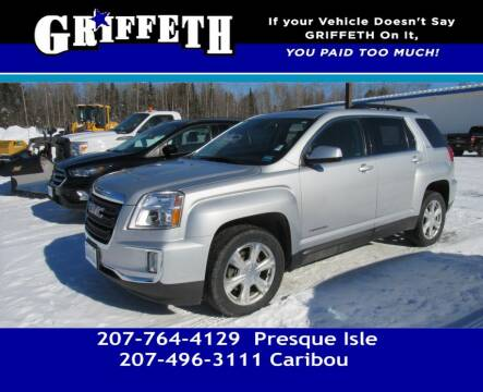 2017 GMC Terrain for sale at Griffeth Mitsubishi - Pre-owned in Caribou ME