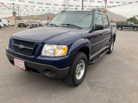 2005 Ford Explorer Sport Trac for sale at Los Compadres Auto Sales in Riverside CA