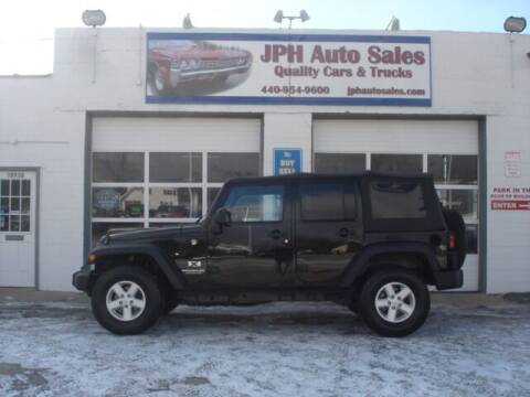 2007 Jeep Wrangler Unlimited for sale at JPH Auto Sales in Eastlake OH