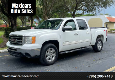 2013 GMC Sierra 1500 for sale at Maxicars Auto Sales in West Park FL