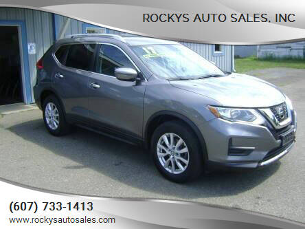 2017 Nissan Rogue for sale at Rockys Auto Sales, Inc in Elmira NY