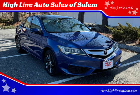 2016 Acura ILX for sale at High Line Auto Sales of Salem in Salem NH