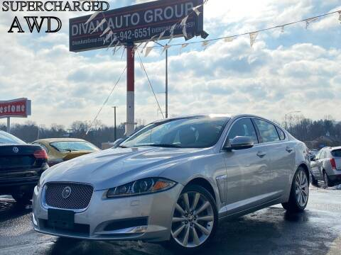 2013 Jaguar XF for sale at Divan Auto Group in Feasterville Trevose PA