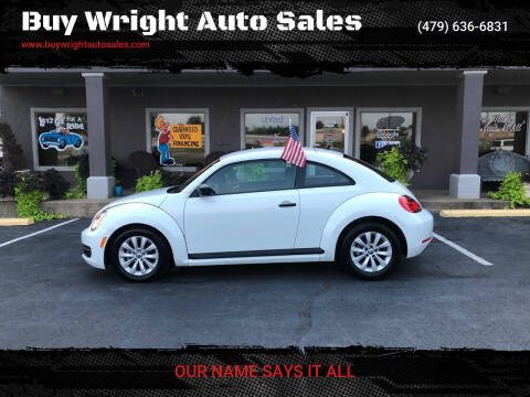 2015 Volkswagen Beetle for sale at Buy Wright Auto Sales in Rogers AR