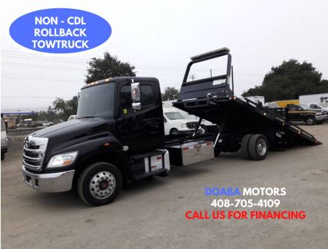 2015 Hino 268 for sale at DOABA Motors - Flatbeds in San Jose CA