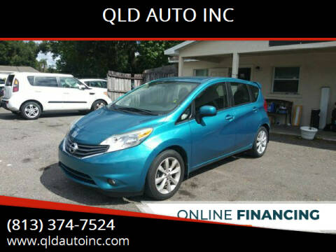 2014 Nissan Versa Note for sale at QLD AUTO INC in Tampa FL