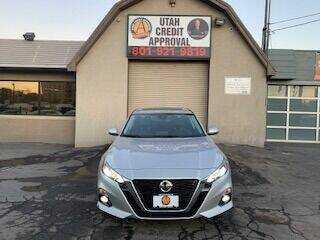 2019 Nissan Altima for sale at Utah Credit Approval Auto Sales in Murray UT
