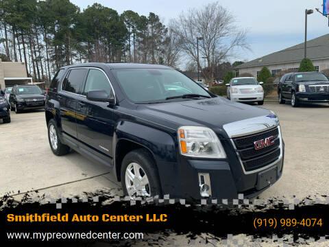 2015 GMC Terrain for sale at Smithfield Auto Center LLC in Smithfield NC