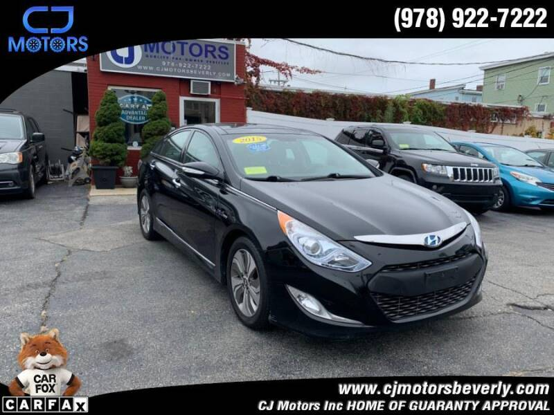 2015 Hyundai Sonata Hybrid for sale at CJ Motors Inc. in Beverly MA