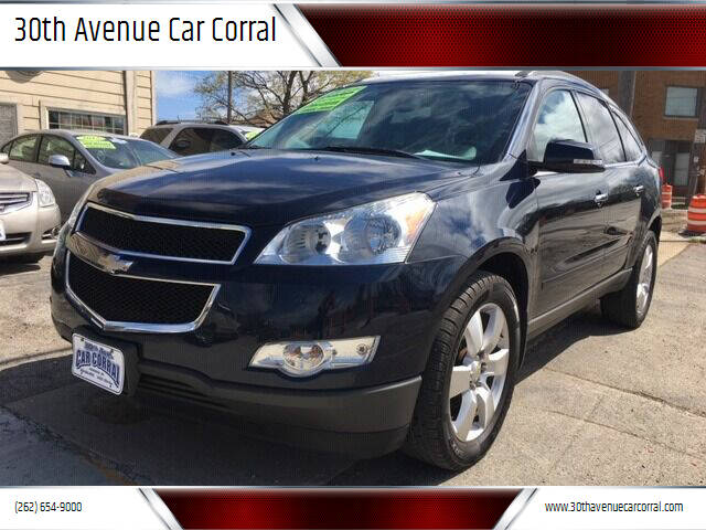 2012 Chevrolet Traverse for sale at 30th Avenue Car Corral in Kenosha WI