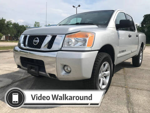 2012 Nissan Titan for sale at ULTIMATE AUTO IMPORTS in Longwood FL