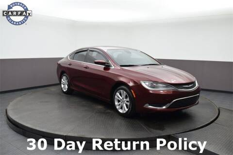 2016 Chrysler 200 for sale at M & I Imports in Highland Park IL