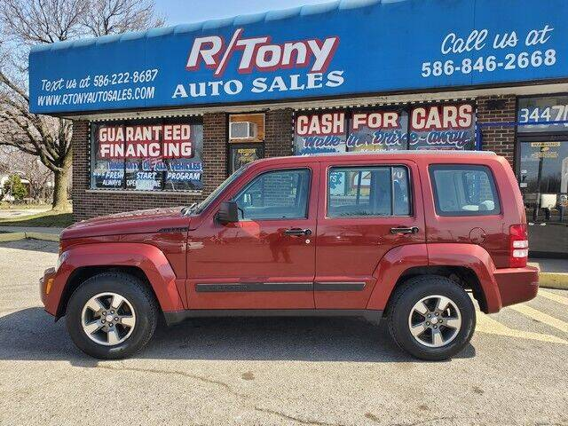 2008 Jeep Liberty for sale at R Tony Auto Sales in Clinton Township MI