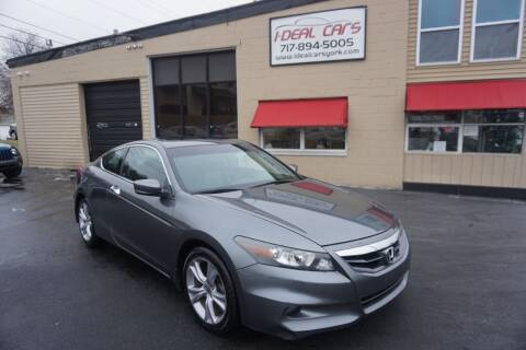 2012 Honda Accord for sale at I-Deal Cars LLC in York PA