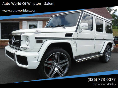 2010 Mercedes-Benz G-Class for sale at Auto World Of Winston - Salem in Winston Salem NC