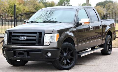 2009 Ford F-150 for sale at Texas Auto Corporation in Houston TX
