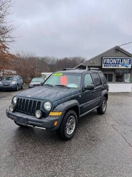 2006 Jeep Liberty for sale at Frontline Motors Inc in Chicopee MA