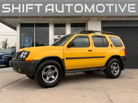 2004 Nissan Xterra for sale at Shift Automotive in Denver CO