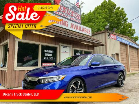 2018 Honda Accord for sale at Oscar's Truck Center, LLC in Houston TX