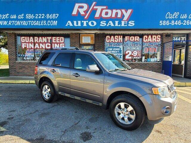 2011 Ford Escape for sale at R Tony Auto Sales in Clinton Township MI