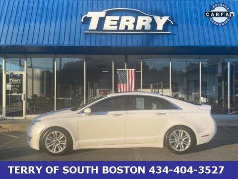 2014 Lincoln MKZ for sale at Terry of South Boston in South Boston VA