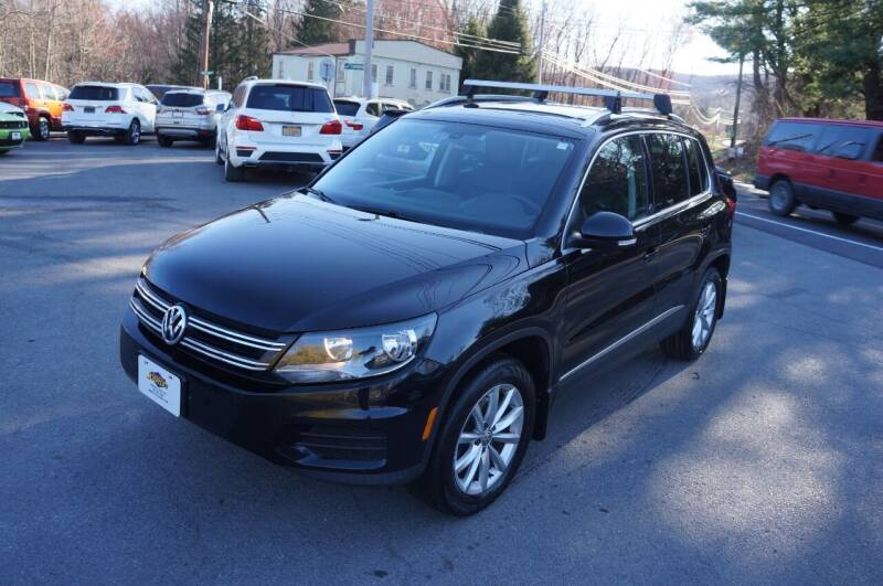 2017 Volkswagen Tiguan for sale at Autos By Joseph Inc in Highland NY