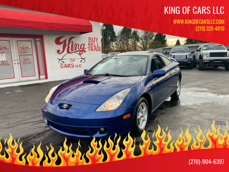 2002 Toyota Celica for sale at King of Cars LLC in Bowling Green KY