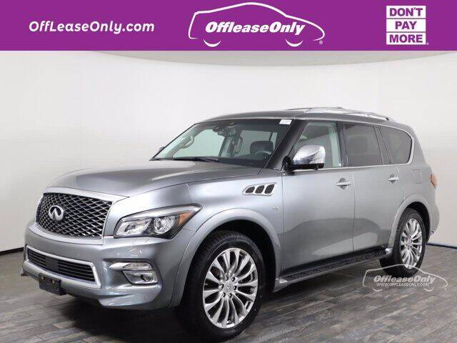 2017 Infiniti QX80 for sale in West Palm Beach, FL