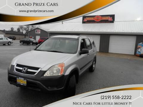 2004 Honda CR-V for sale at Grand Prize Cars in Cedar Lake IN