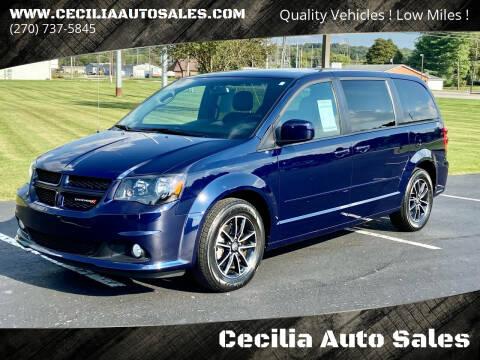 2016 Dodge Grand Caravan for sale at Cecilia Auto Sales in Elizabethtown KY