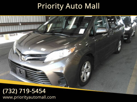2019 Toyota Sienna for sale at Mr. Minivans Auto Sales - Priority Auto Mall in Lakewood NJ