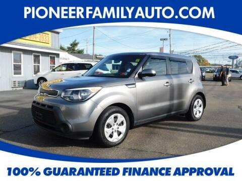 2015 Kia Soul for sale at Pioneer Family auto in Marietta OH