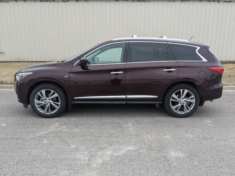 2015 Infiniti QX60 for sale at TNK Autos in Inman KS