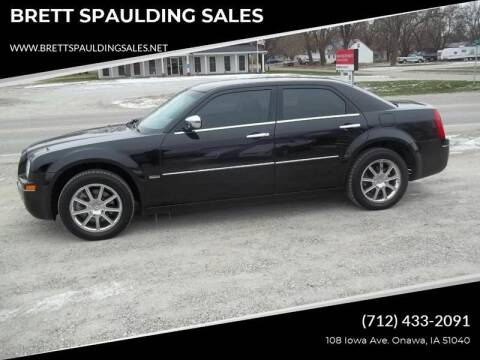2010 Chrysler 300 for sale at BRETT SPAULDING SALES in Onawa IA