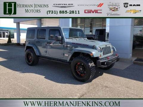 2013 Jeep Wrangler Unlimited for sale at Herman Jenkins Used Cars in Union City TN